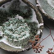 Посуда ручной работы. Ярмарка Мастеров - ручная работа Чаши Цветы Гор. Handmade.
