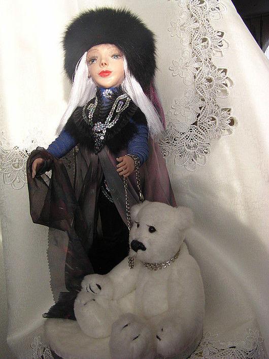 Коллекционные куклы ручной работы. Ярмарка Мастеров - ручная работа. Купить кукла Северное сияние. Handmade. Куклы ручной работы
