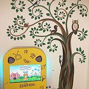 Дизайн и реклама ручной работы. Ярмарка Мастеров - ручная работа Дерево для детской. Handmade.