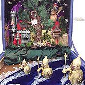 """Куклы и игрушки handmade. Livemaster - original item Чемодан """" У Лукоморья"""". Handmade."""