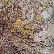 """Картины и панно ручной работы. Ярмарка Мастеров - ручная работа Картина """"Механическая рыба"""". Handmade."""