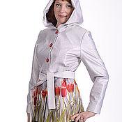 """Одежда ручной работы. Ярмарка Мастеров - ручная работа Куртка  """" Весенние тюльпаны"""". Handmade."""
