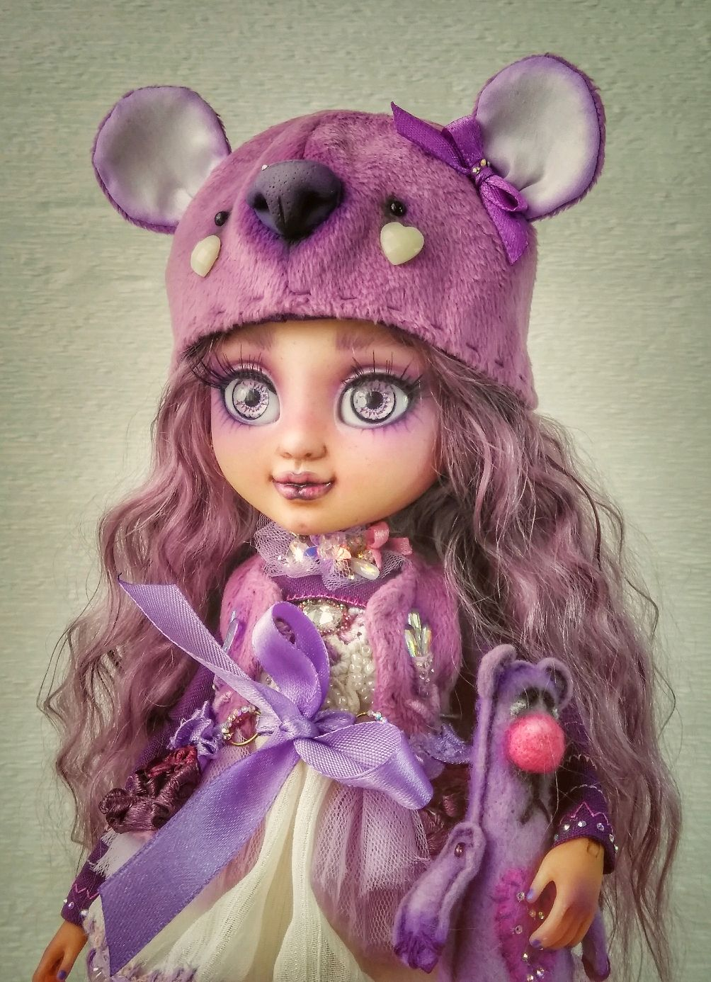 OOAK. Violetta. Copyright jointed doll, Ball-jointed doll, Komsomolsk-on-Amur,  Фото №1