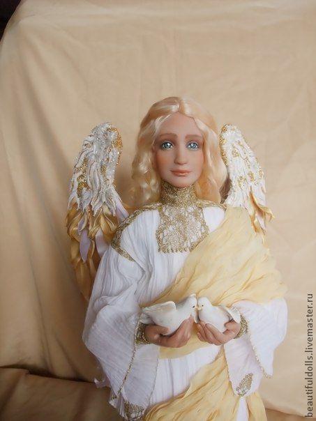 """Коллекционные куклы ручной работы. Ярмарка Мастеров - ручная работа. Купить """"Страж Семьи"""". Handmade. Кукла с душой, обережный ангел"""