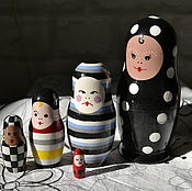 Русский стиль handmade. Livemaster - original item Dolls Harlequin. Handmade.