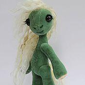 Куклы и игрушки ручной работы. Ярмарка Мастеров - ручная работа Авторская  коллекционная игрушка пони -по имени  Лесная - аля - винтаж. Handmade.