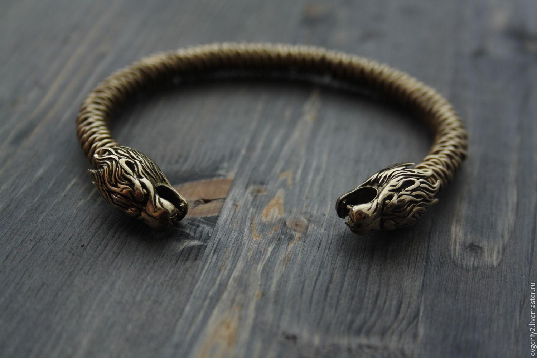Bracelet bronze Viking, Bead bracelet, Volgograd,  Фото №1