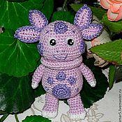 Куклы и игрушки ручной работы. Ярмарка Мастеров - ручная работа Мастер-класс Лунтик пальчиковая игрушка. Handmade.