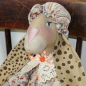 Куклы и игрушки ручной работы. Ярмарка Мастеров - ручная работа Крольчиха Сентябрина. Handmade.