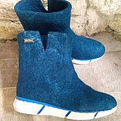"""Обувь ручной работы. Ярмарка Мастеров - ручная работа Сапожки женские валяные """"Удобные"""". Handmade."""