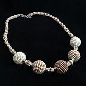 Necklace handmade. Livemaster - original item Beaded necklace