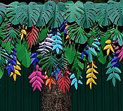 Цветы ручной работы. Ярмарка Мастеров - ручная работа Фотозона Тропики. Handmade.