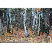 Картины и панно handmade. Livemaster - original item Textile panel Wood. Handmade.