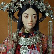 """Куклы и игрушки ручной работы. Ярмарка Мастеров - ручная работа кукла """"Дандан"""". Handmade."""