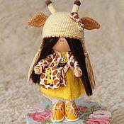 Куклы и игрушки ручной работы. Ярмарка Мастеров - ручная работа Интерьерная кукла Тильда (тыквоголовка). Handmade.