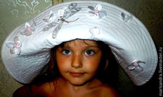 """Шляпы ручной работы. Ярмарка Мастеров - ручная работа. Купить Шляпа """" Сакура"""". Handmade. Комбинированный, шляпа с большими полями"""