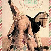 Куклы и игрушки ручной работы. Ярмарка Мастеров - ручная работа Слоник Mo )). Handmade.
