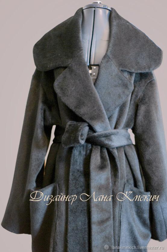 coat oversize ' Black velvet', Coats, Moscow,  Фото №1