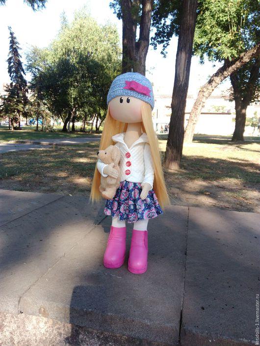 Коллекционные куклы ручной работы. Ярмарка Мастеров - ручная работа. Купить Кукла Мирослава. Handmade. Фуксия, авторская ручная работа