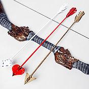 Субкультуры ручной работы. Ярмарка Мастеров - ручная работа Лук и стрелы. Handmade.