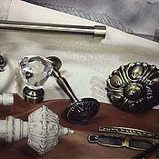 handmade. Livemaster - original item Hooks, clips, brackets for any cornice. Handmade.