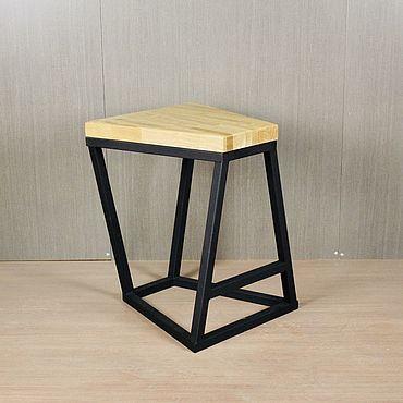 Мебель ручной работы. Ярмарка Мастеров - ручная работа Табурет столовый NEO дубовый. Handmade.