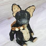 """Куклы и игрушки ручной работы. Ярмарка Мастеров - ручная работа Тедди собака """"Sweet"""". Handmade."""