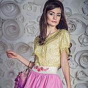 """Одежда ручной работы. Ярмарка Мастеров - ручная работа """"Жасмин"""" женская юбка. Handmade."""