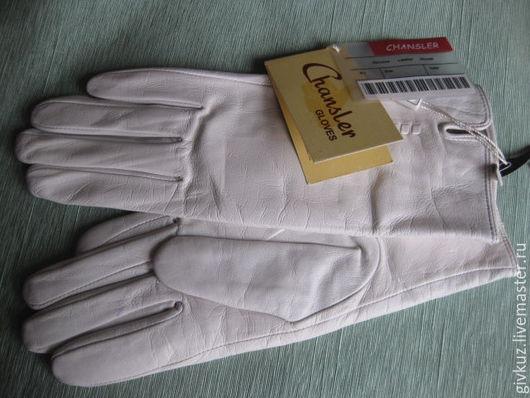 Винтажная одежда и аксессуары. Ярмарка Мастеров - ручная работа. Купить Ретро Перчатки кожаные Белые. Handmade. Перчатки, кожаные перчатки