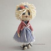 Куклы и игрушки ручной работы. Ярмарка Мастеров - ручная работа Кукла текстильная. Кукла интерьерная игровая. Софи. Handmade.