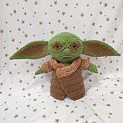 Куклы и игрушки handmade. Livemaster - original item Little Yoda master Yoda. Handmade.