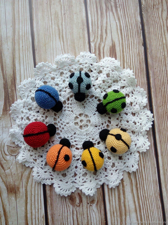Educational toy ladybugs, Play sets, Rybinsk,  Фото №1