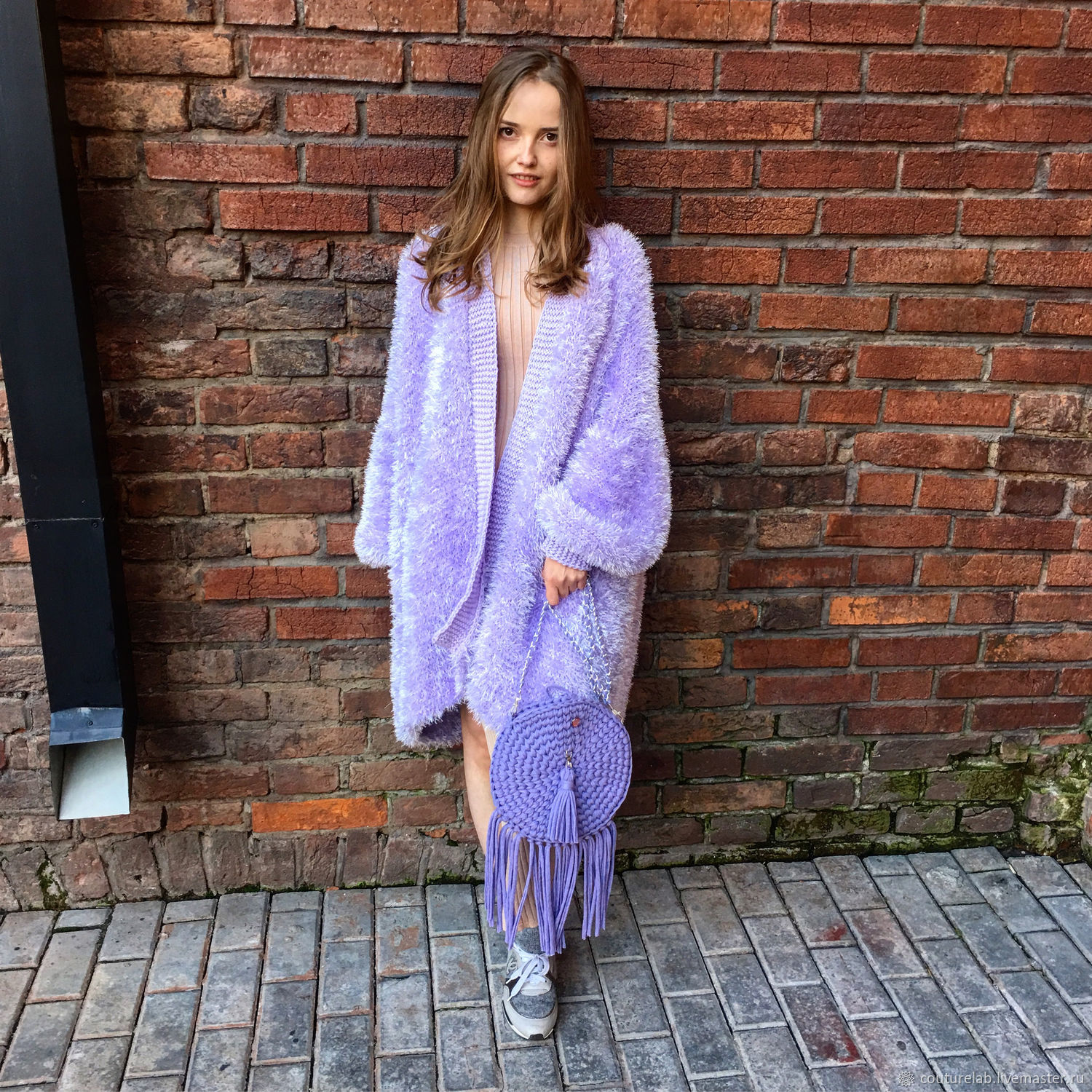 Pale purple women's cardigan from SHAPAR brand women knitted clothes handmade online store cardigans at the fair masters. Buy trendy cardigans for fall, for girls. for women.
