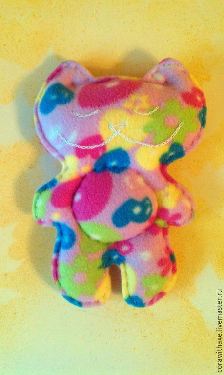 Игрушки животные, ручной работы. Ярмарка Мастеров - ручная работа. Купить Кот Баюн. Handmade. Розовый, Баюн, кот