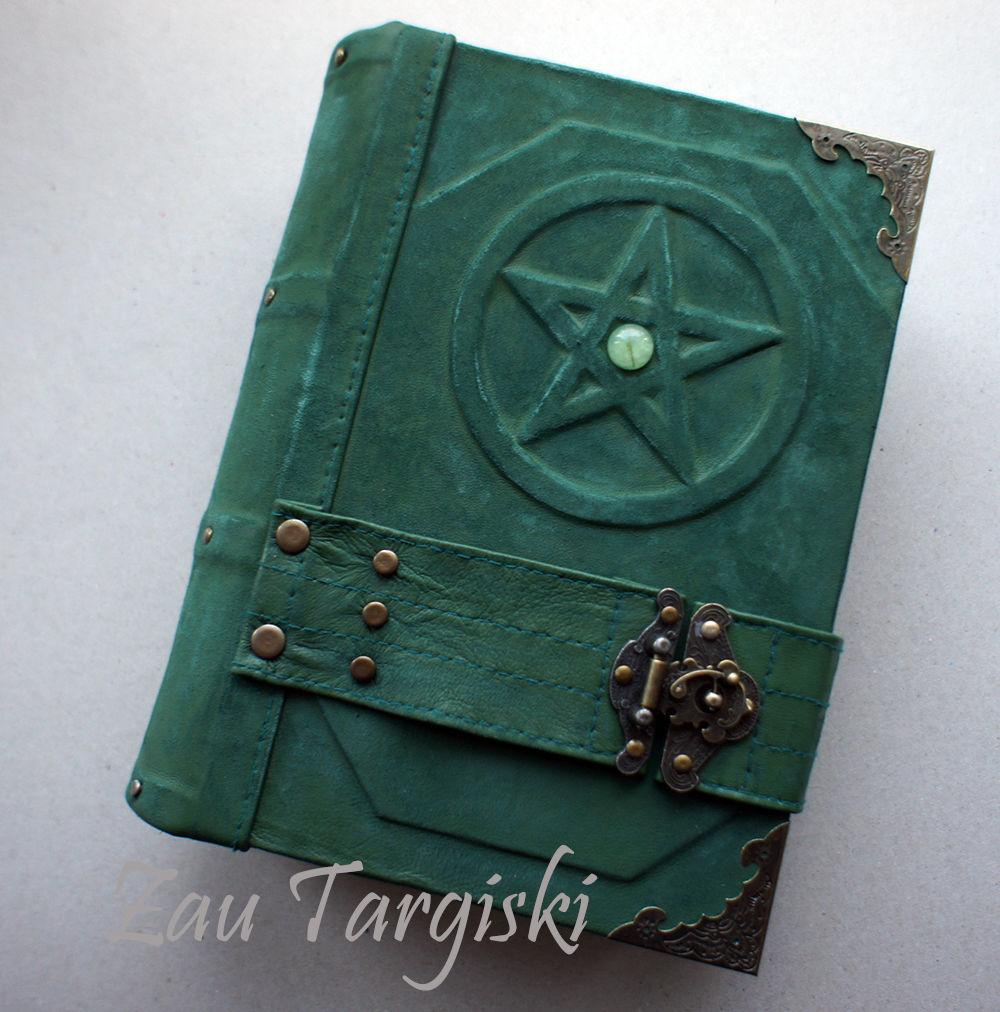 Зеленая книга теней с пренитом-2 (на заказ), Гримуар, Москва,  Фото №1
