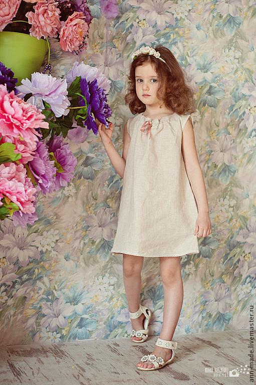 Одежда для девочек, ручной работы. Ярмарка Мастеров - ручная работа. Купить Платье (Арт.: Д-33). Handmade.
