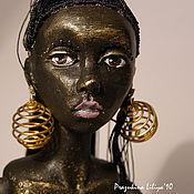 Куклы и игрушки ручной работы. Ярмарка Мастеров - ручная работа Африканская девушка. Handmade.