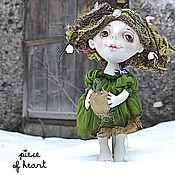 Куклы и игрушки ручной работы. Ярмарка Мастеров - ручная работа маленькая Весна.... Handmade.