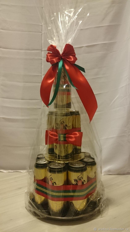 Подарок мужчине на день рождения торт из пива