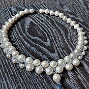 Украшения handmade. Livemaster - original item Necklace with pearls. Handmade.