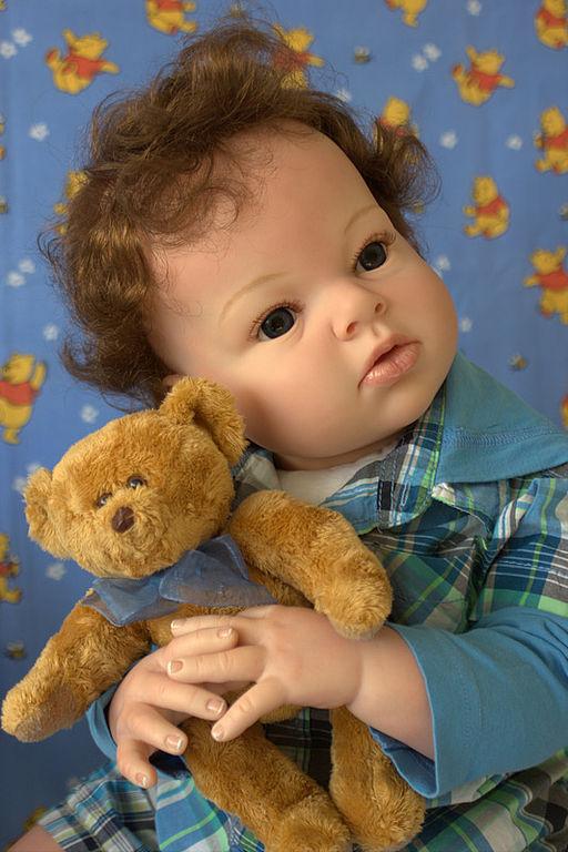 Куклы-младенцы и reborn ручной работы. Ярмарка Мастеров - ручная работа. Купить Годовалый малыш  реборн Макс .. Handmade.