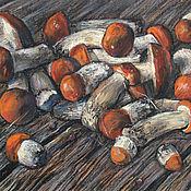 Картины и панно handmade. Livemaster - original item Painting with pastels Aspen. Handmade.