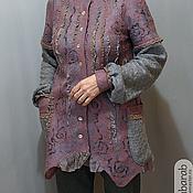 """Одежда ручной работы. Ярмарка Мастеров - ручная работа жакет"""" Любимая кофта"""". Handmade."""