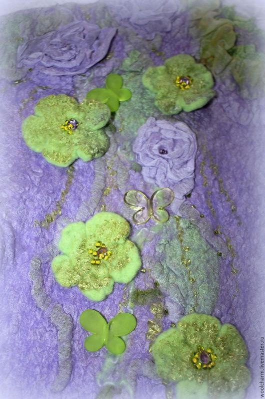 Одежда для девочек, ручной работы. Ярмарка Мастеров - ручная работа. Купить Платье детское валяное Поляна цветочных ангелов. Handmade.