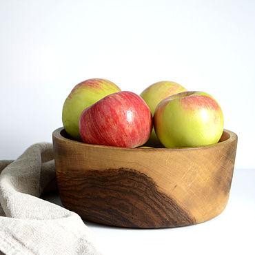 Посуда ручной работы. Ярмарка Мастеров - ручная работа Чаша из дерева (салатник, чаша для фруктов). Handmade.