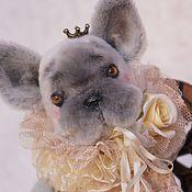 Куклы и игрушки ручной работы. Ярмарка Мастеров - ручная работа Круассан с розой (-15%). Handmade.