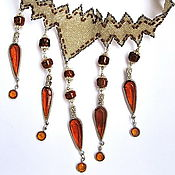 "Necklace manualidades. Livemaster - hecho a mano Necklace ""Vintage"". Handmade."