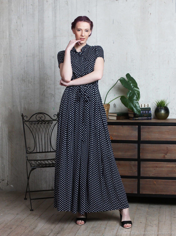 Polka dot dress, Dresses, Moscow,  Фото №1