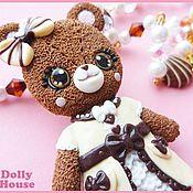"""Украшения ручной работы. Ярмарка Мастеров - ручная работа Колье """"Angelic Lolita Bear"""". Handmade."""