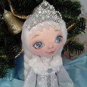 Куклы и игрушки ручной работы. Ярмарка Мастеров - ручная работа СНЕГУРОЧКА текстильная кукла. Handmade.